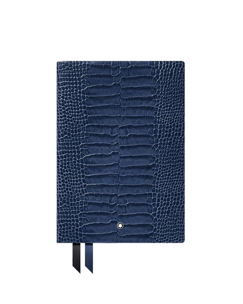 Montblanc Σημειωματάριο Blue 118026   brands montblanc δερμάτινα είδη   αξεσουάρ