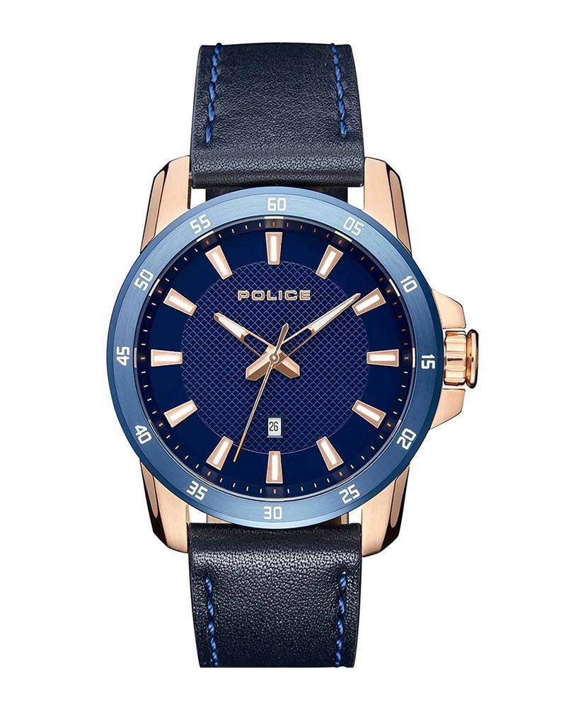 Ρολόι POLICE Tromso Blue 15526JSRBL-03   προσφορεσ ρολόγια ρολόγια από 100 έως 300ε