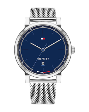 Ρολόι TOMMY HILFIGER Montre Thompson Blue/Silver 1791732