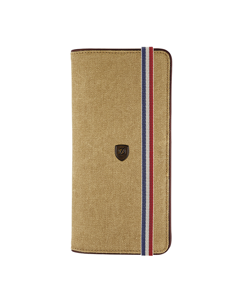 DUPONT 190303 LONG WALLET BEIGE AND COGNAC   brands dupont
