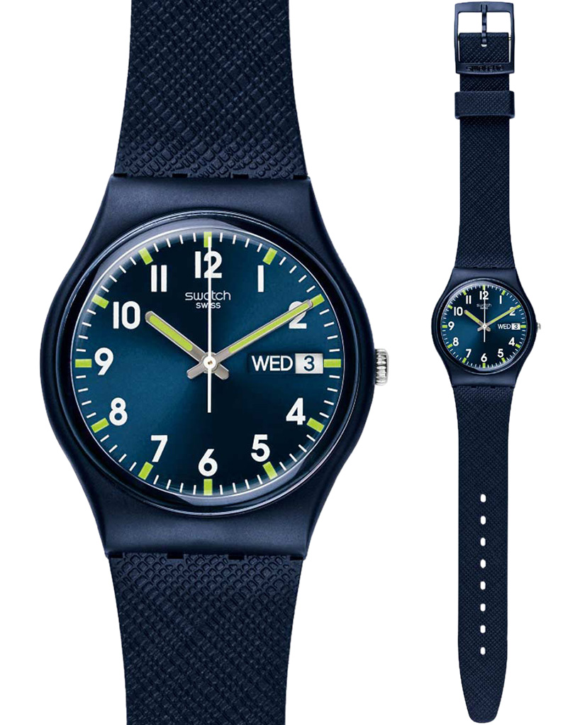 Ρολόι Swatch Sir Blue GN718   brands swatch