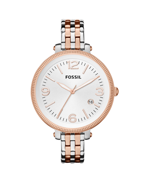 Ρολόι Fossil Heather Silver Dial Two-tone ES3215