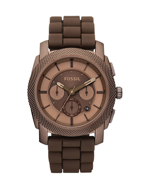 Ρολόι Fossil Men's Chrono Total Brown FS4702