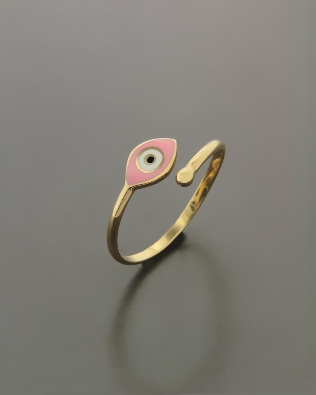 Παιδικό δαχτυλίδι χρυσό με Σμάλτο   παιδι δαχτυλίδια παιδικά