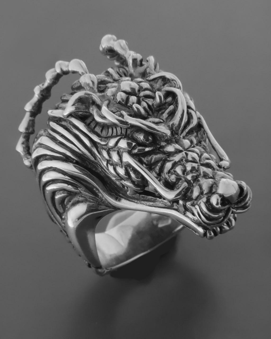 Ανδρικό χειροποίητο δαχτυλίδι Δράκος   κοσμηματα δαχτυλίδια δαχτυλίδια ανδρικά
