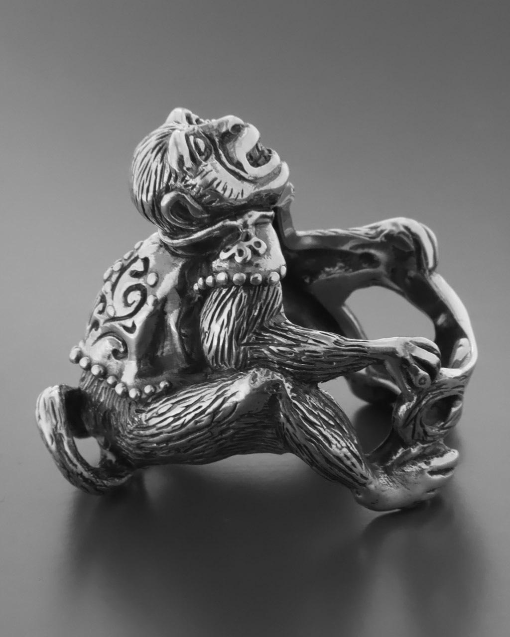 Ανδρικό χειροποίητο δαχτυλίδι Monkey   κοσμηματα δαχτυλίδια δαχτυλίδια ανδρικά