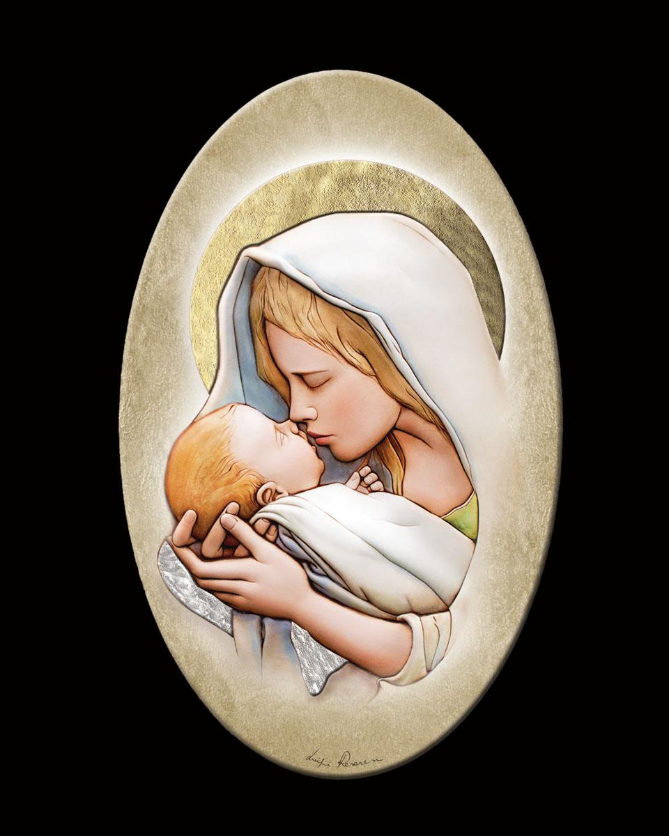 Εικόνα με την Παναγία & το Χριστό   δωρα εικόνες