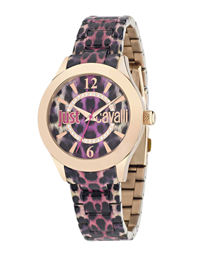 Ρολόι Just Cavalli Just Havana Rose Gold R7253177502