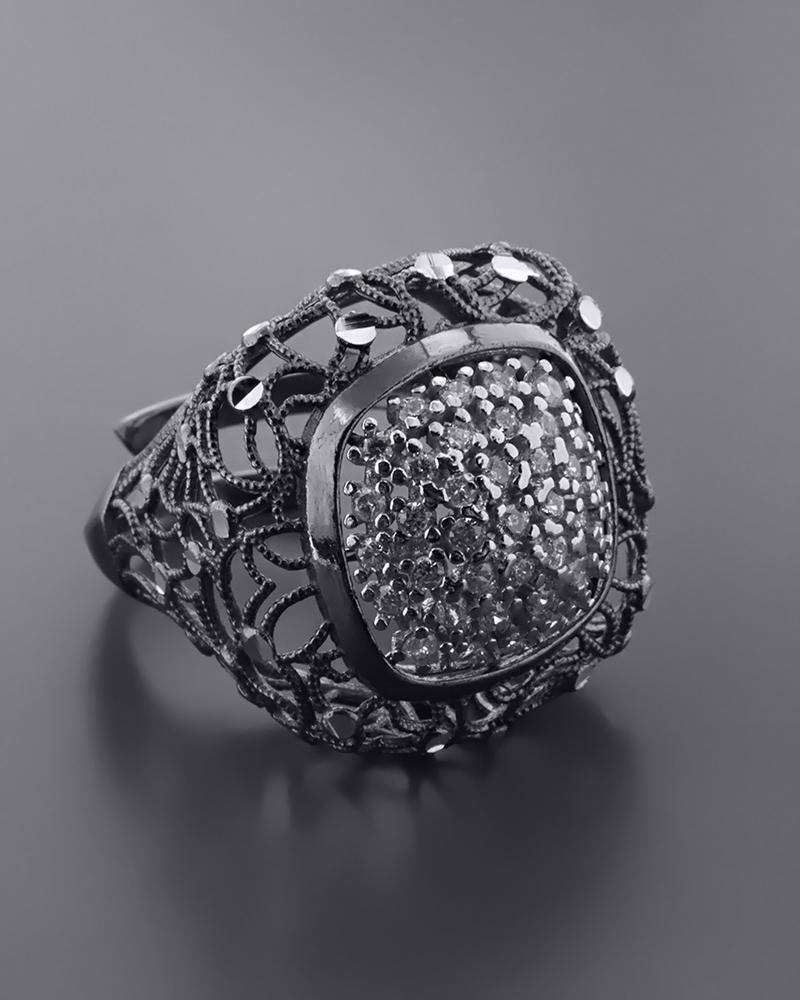 Δαχτυλίδι Fashion με Ζιργκόν   γυναικα δαχτυλίδια δαχτυλίδια ασημένια