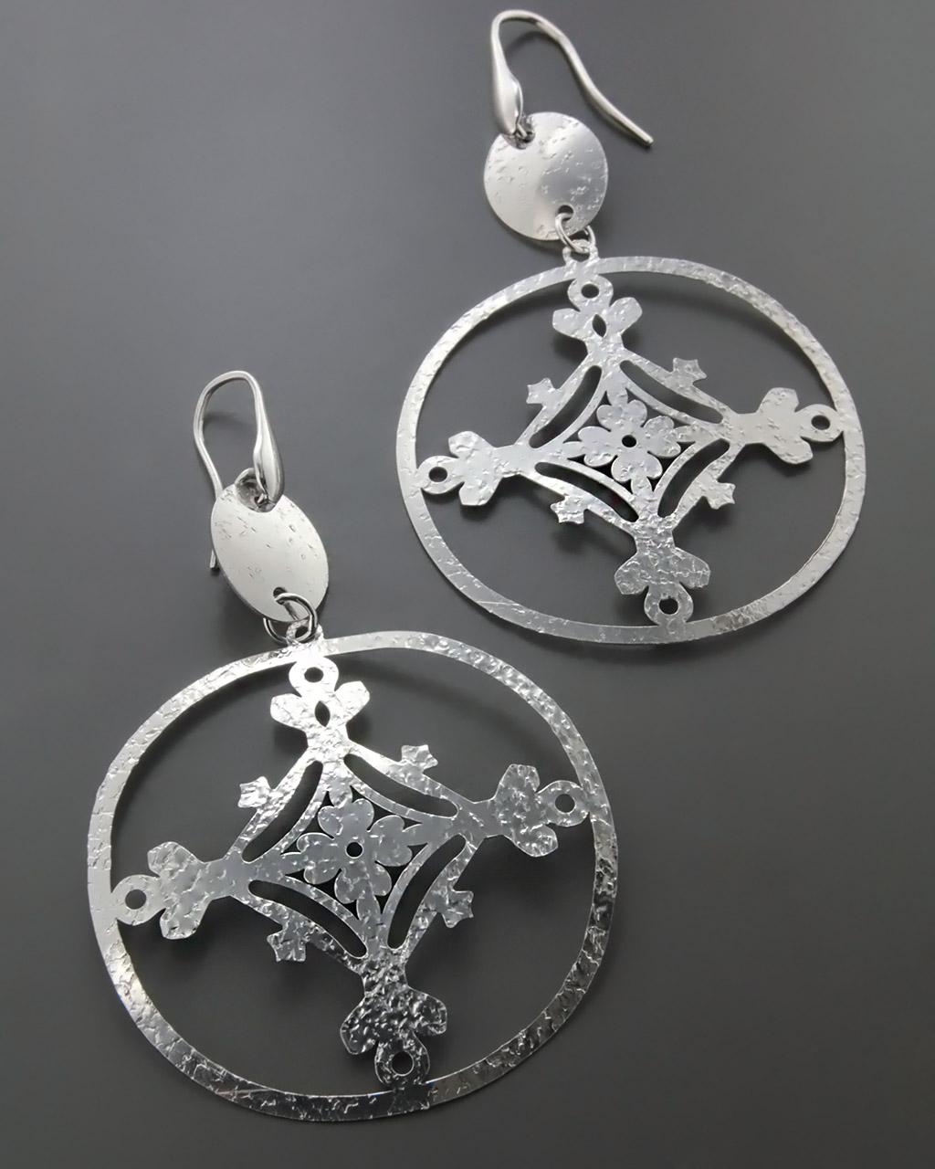 Σκουλαρίκια Κρίκοι Fashion ασημένια   γυναικα σκουλαρίκια σκουλαρίκια fashion