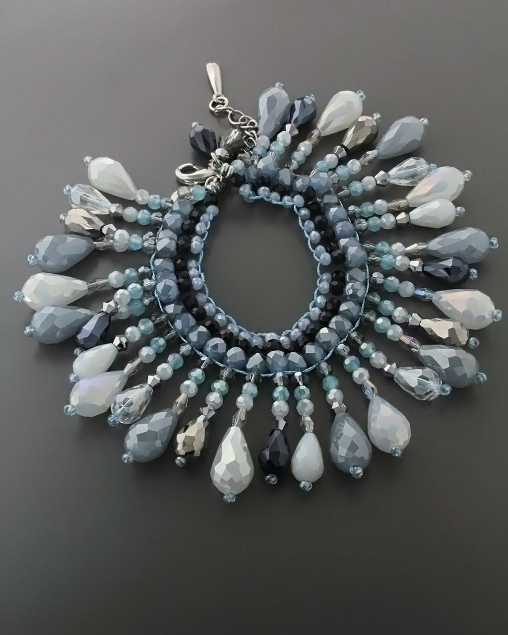 Βραχιόλι Fashion με Ημιπολύτιμες πέτρες   κοσμηματα βραχιόλια βραχιόλια fashion