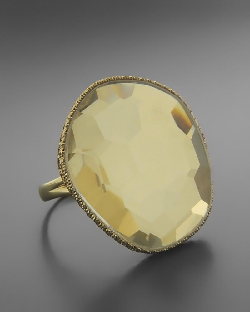 Δαχτυλίδι fashion χρυσό Κ14 με Ζιργκόν   γυναικα δαχτυλίδια δαχτυλίδια ημιπολύτιμοι λίθοι