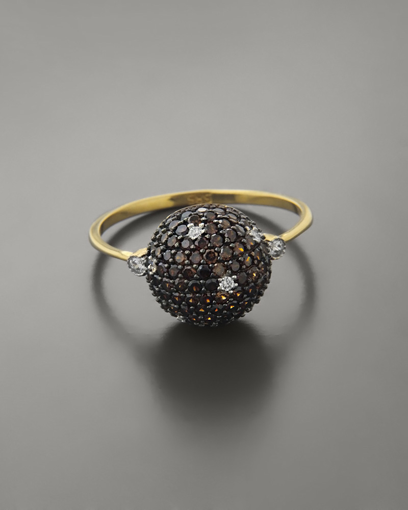 Δαχτυλίδι χρυσό με Ζιργκόν   γυναικα δαχτυλίδια δαχτυλίδια χρυσά