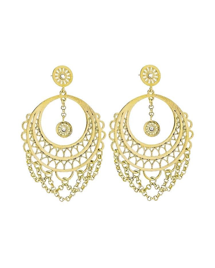 Σκουλαρίκια Stroili απο ορείχαλκο Frida 1607879   κοσμηματα σκουλαρίκια σκουλαρίκια fashion