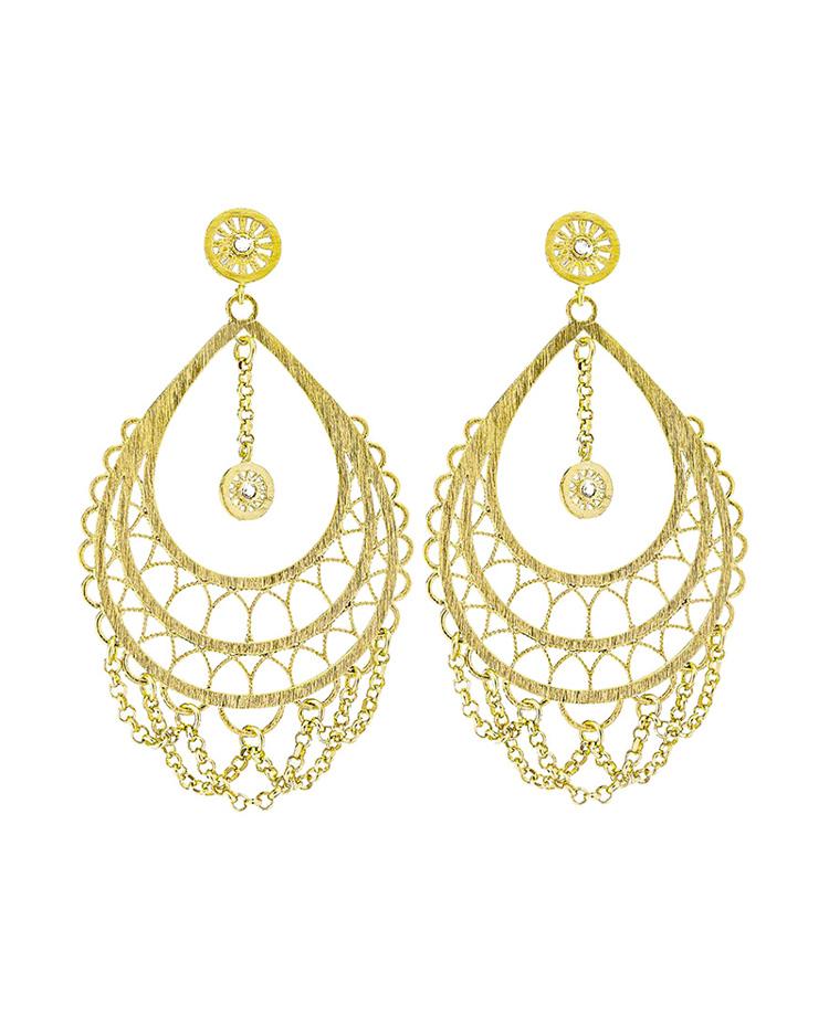 Σκουλαρίκια Stroili Frida απο ορείχαλκο 1607880   κοσμηματα σκουλαρίκια σκουλαρίκια fashion