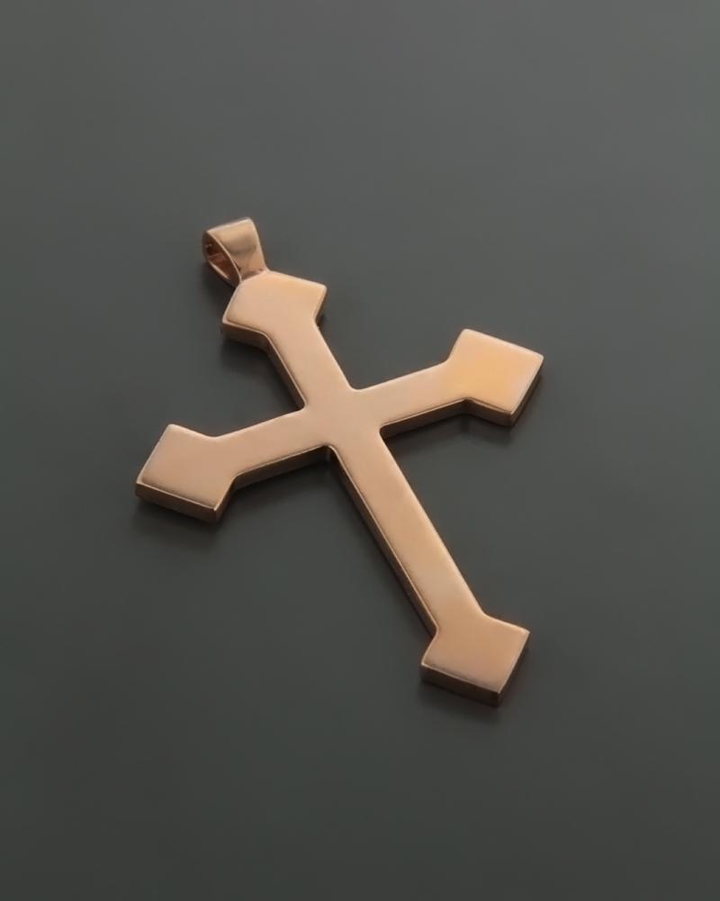 Σταυρός Ροζ Χρυσός Κ9   κοσμηματα σταυροί σταυροί ροζ χρυσό