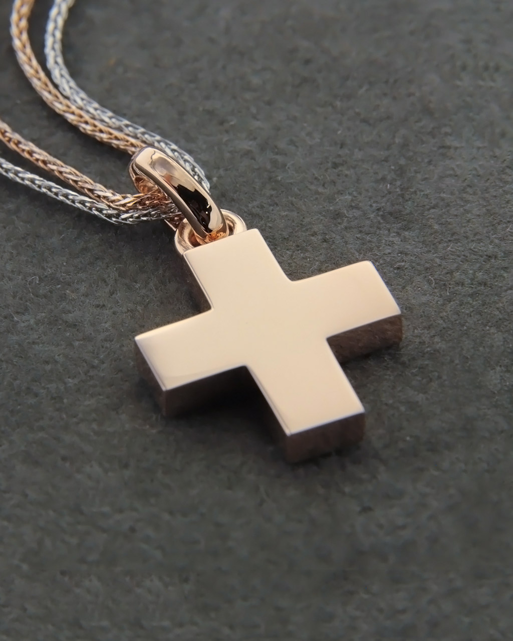 Σταυρός βαπτιστικός ροζ χρυσός   κοσμηματα σταυροί σταυροί ροζ χρυσό