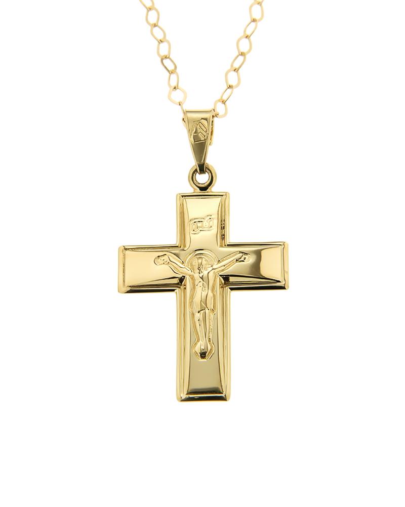 Σταυρός Βάπτισης Χρυσός Κ9   παιδι βαπτιστικοί σταυροί βαπτιστικοί σταυροί για αγόρι