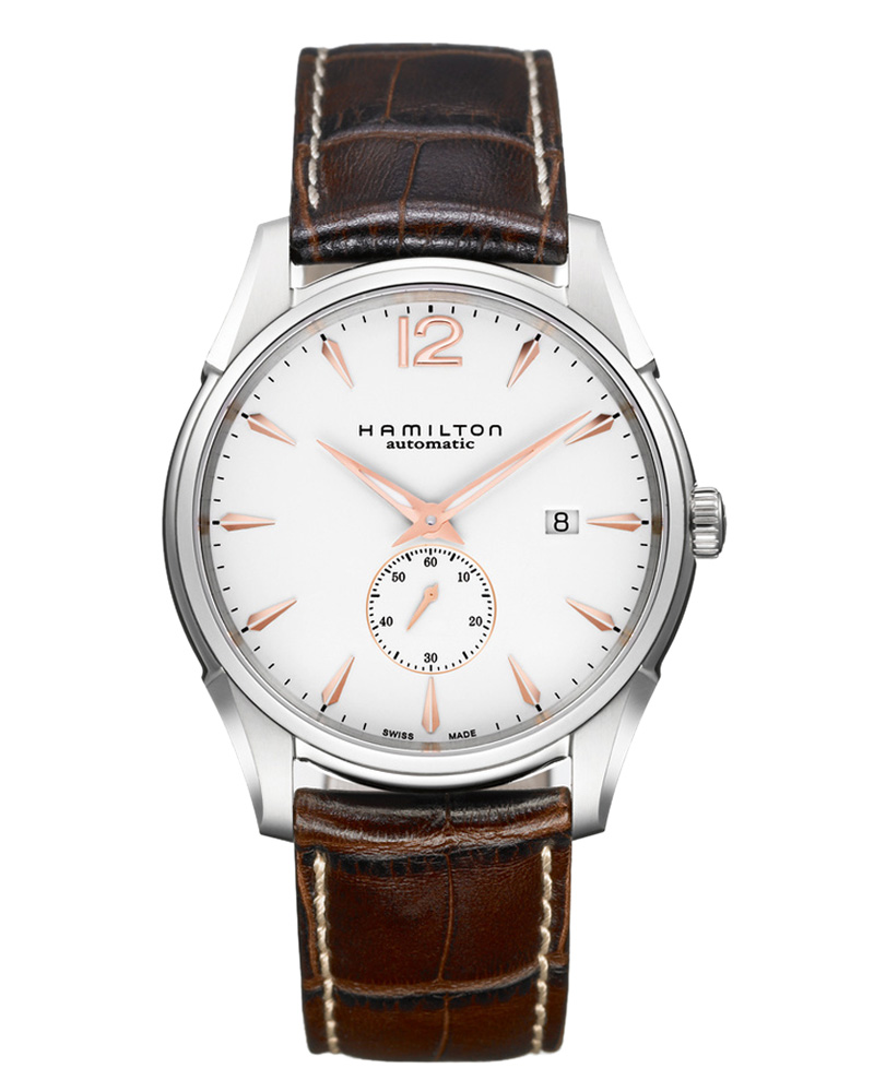 Ρολόι Hamilton JASSMASTER Slim Petite Seconde H38655515   brands hamilton