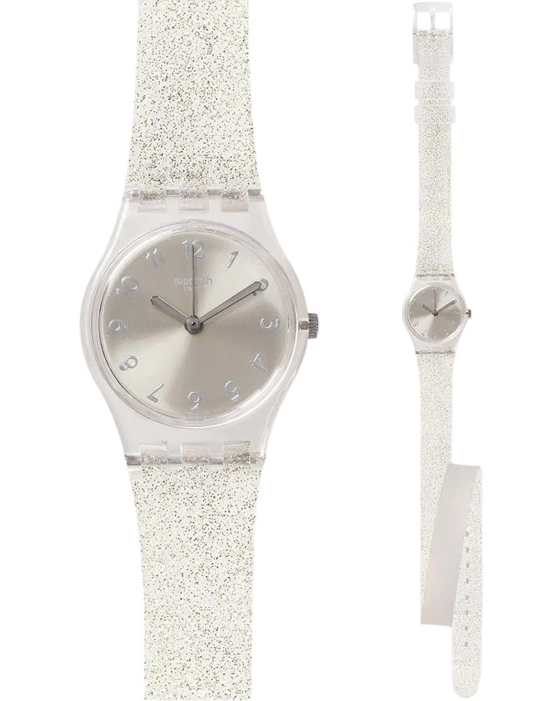 Ρολόι Swatch Silver Glistar LK343   brands swatch