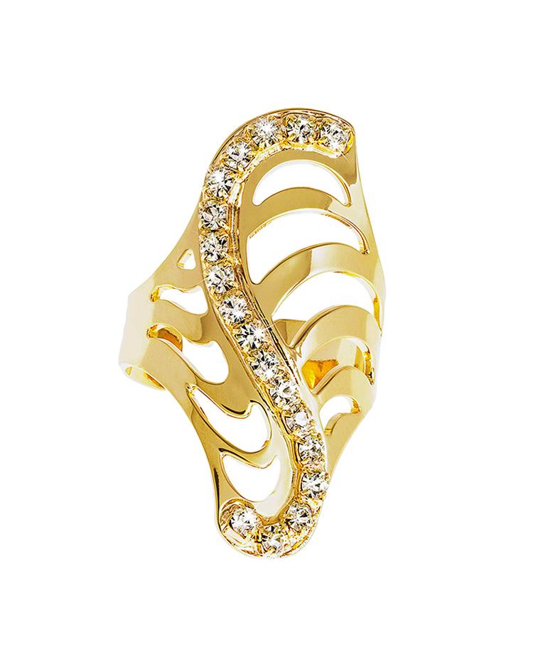 Δαχτυλίδι Stroili Kalahari απο ορείχαλκο 1602926   κοσμηματα stroili