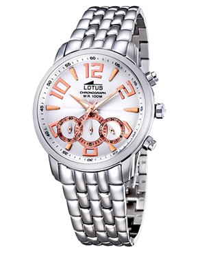 Ρολόι LOTUS Stainless Steel Chronograph L9982-1