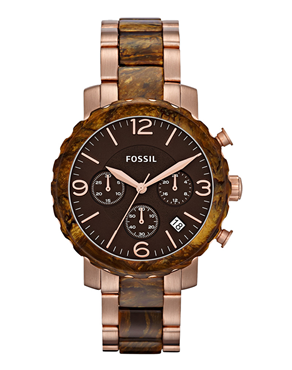 Ρολόι Fossil Natalie Two-tone Ladies JR1385
