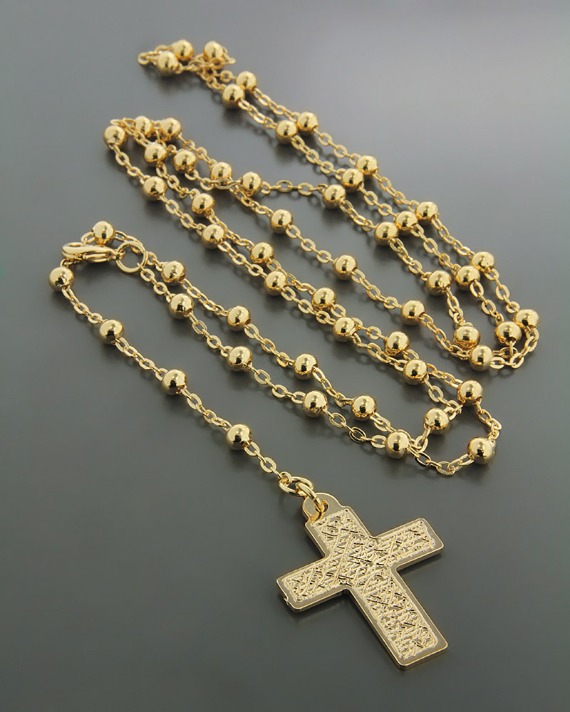 Κολιέ Ροζάριο   κοσμηματα σταυροί σταυροί χρυσοί