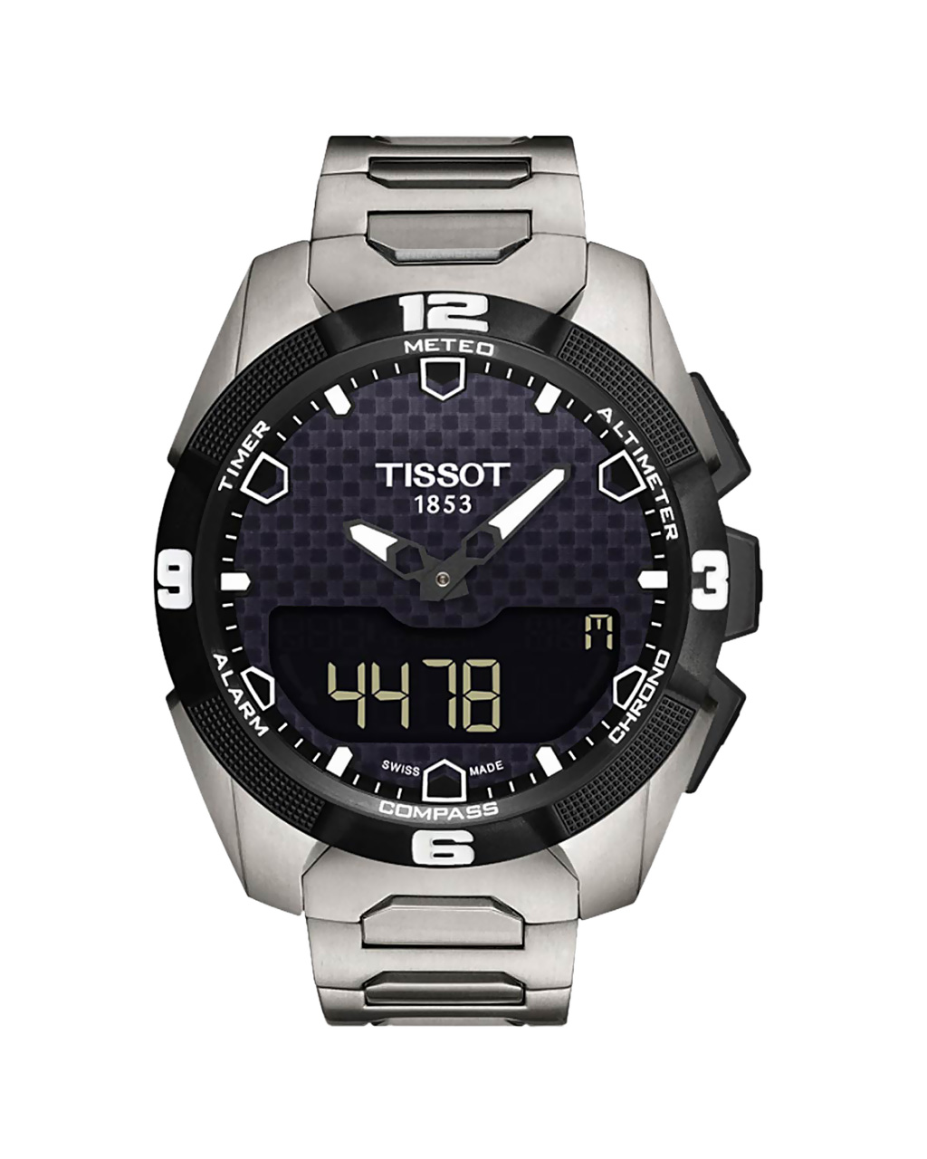 Ρολόι Tissot T-Touch Expert Solar Titanium T0914204405100   brands tissot
