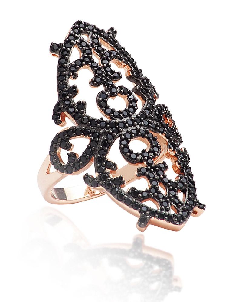 Fashion Δαχτυλίδι απο ασήμι με Ζιργκόν AD3202146   γυναικα δαχτυλίδια δαχτυλίδια ασημένια
