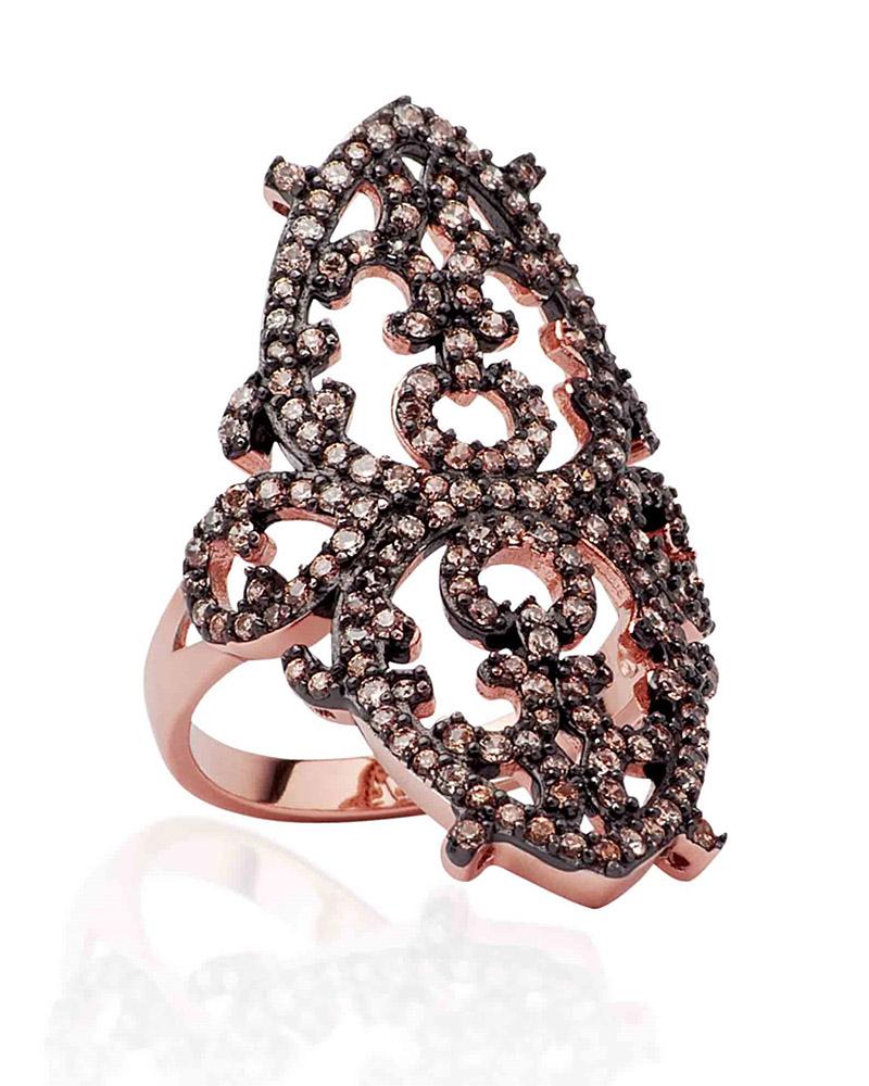 Fashion Δαχτυλίδι απο ασήμι με Ζιργκόν AD3202188   γυναικα δαχτυλίδια δαχτυλίδια ασημένια
