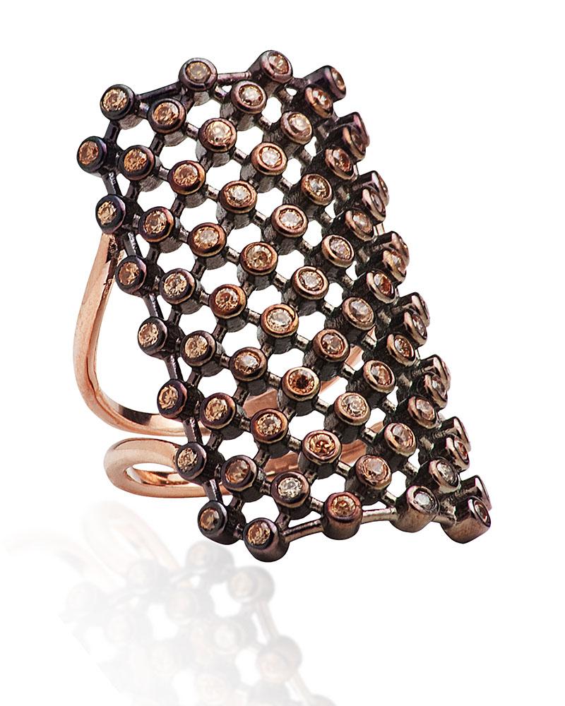 Fashion Δαχτυλίδι απο ασήμι με Ζιργκόν AD3202196   γυναικα δαχτυλίδια δαχτυλίδια ασημένια