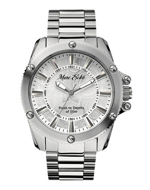 Ρολόι MARC ECKO The Flash Silver E16583G2