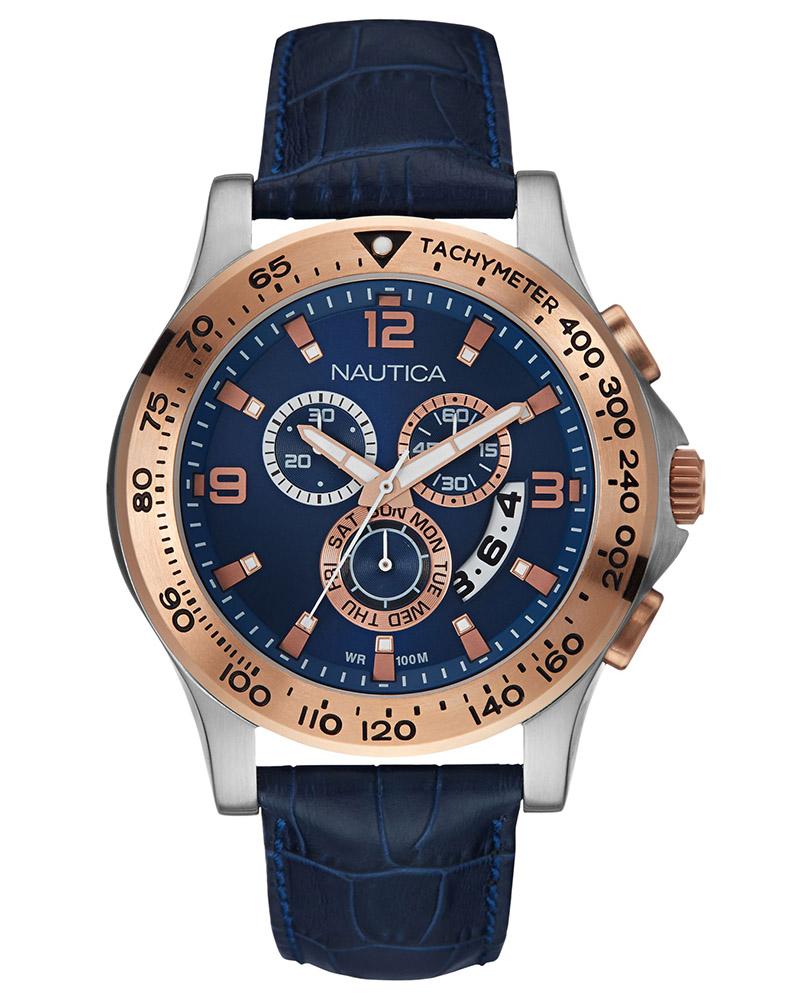 Ρολόι Nautica NST 600 Chronograph NAI22503L   brands nautica