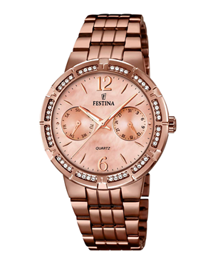 Ρολόι Festina Ladies Rose Gold F16796-1