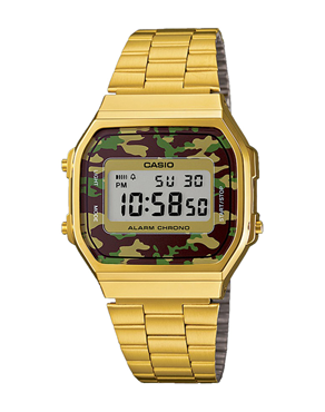 Ρολόι Casio Collection Camouflage Gold A-168WEGC-3EF