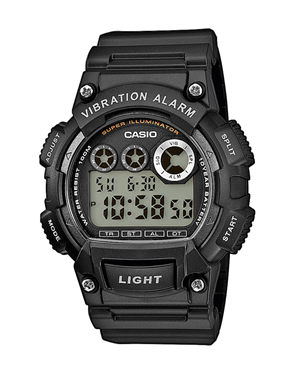 Ρολόι Casio Collection Digital Black W-735H-1AVEF
