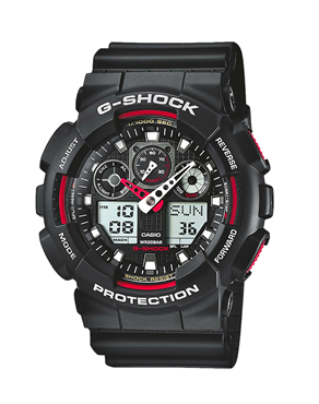 Ρολόι Casio G-SHOCK Chronograph GA-100-1A4ER