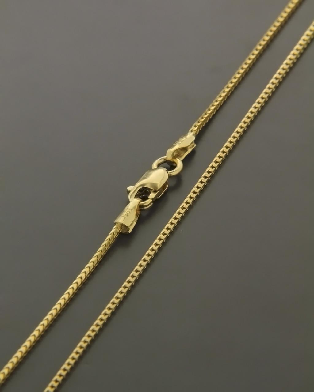 Αλυσίδα λαιμού χρυσή Κ14   κοσμηματα αλυσίδες λαιμού αλυσίδες χρυσές