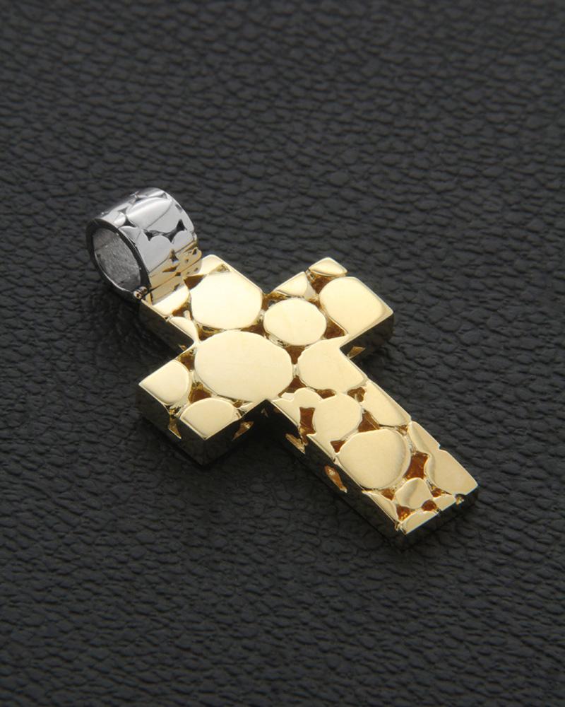 Χειροποίητος Σταυρός Χρυσός Κ18   ανδρασ σταυροί ανδρικοί