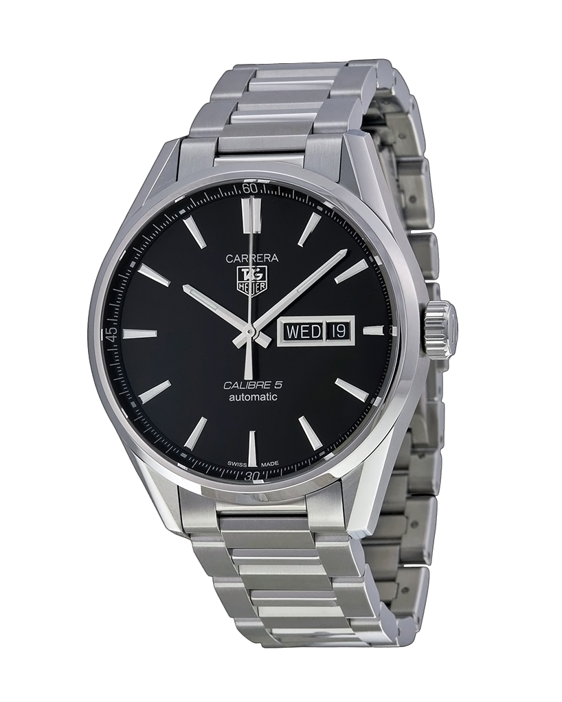 Ρολόι TAG HEUER Carrera Calibre 5 WAR201ABA0723   ρολογια tag heuer
