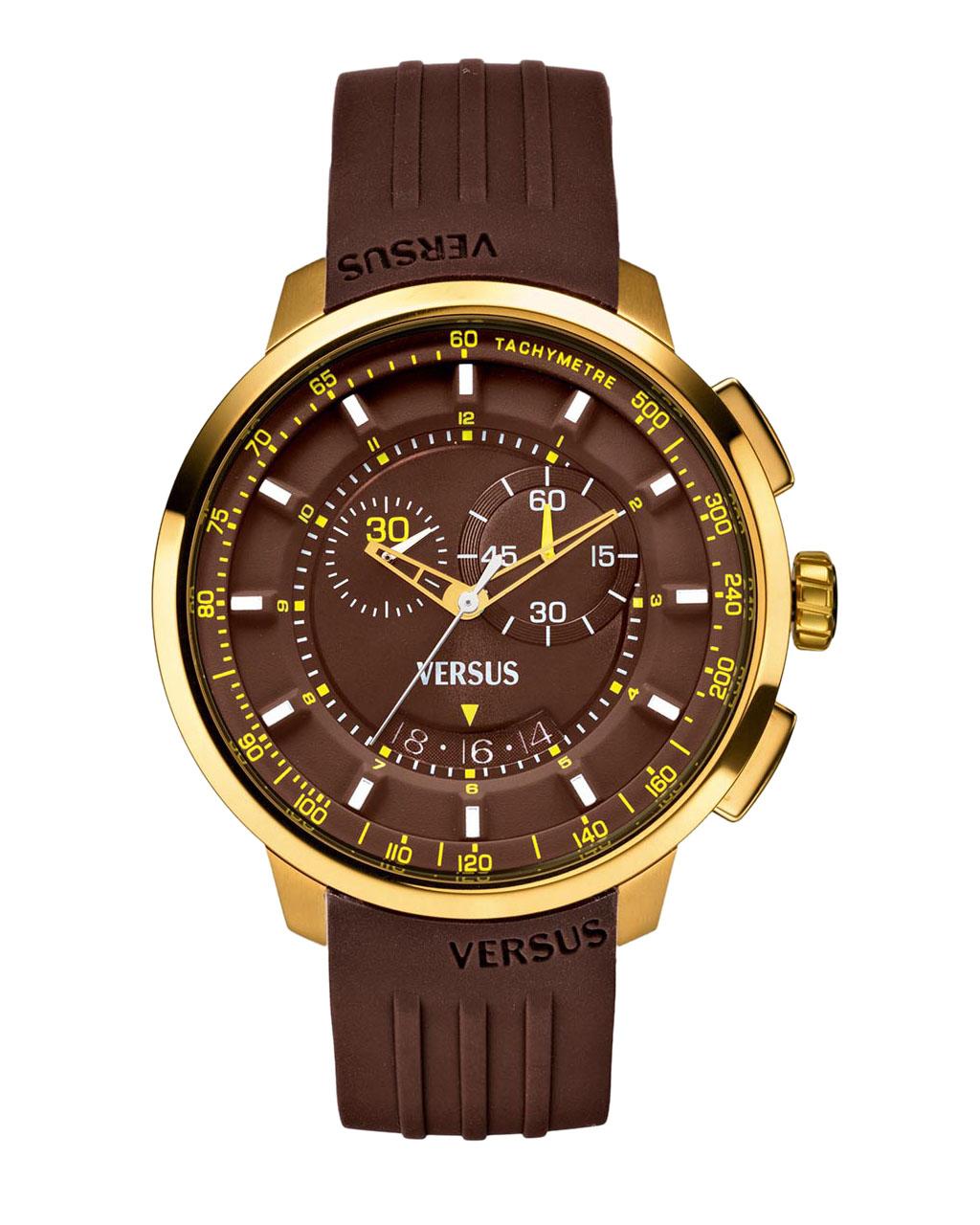 Ρολόι VERSUS Manhattan Gold SGV060013   brands versus versace