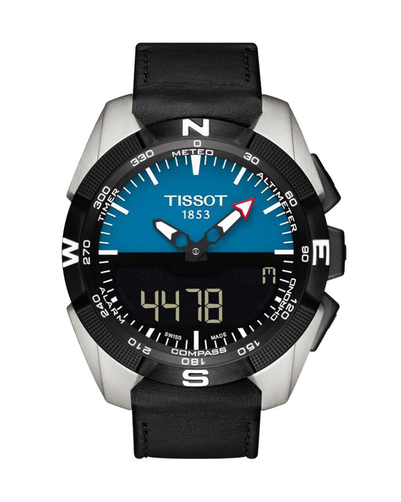 Ρολόι TISSOT T-Touch Expert Solar Titanium Black T0914204604100   brands tissot