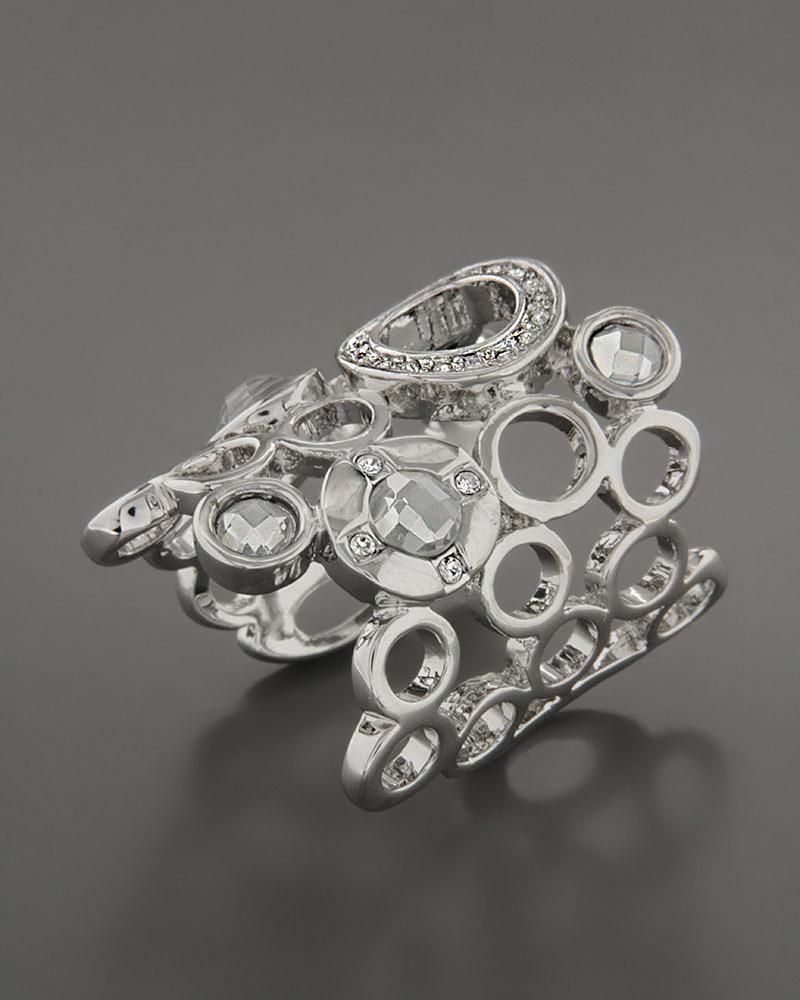 Δαχτυλίδι από ορείχαλκο με Ζιργκόν   κοσμηματα δαχτυλίδια δαχτυλίδια fashion