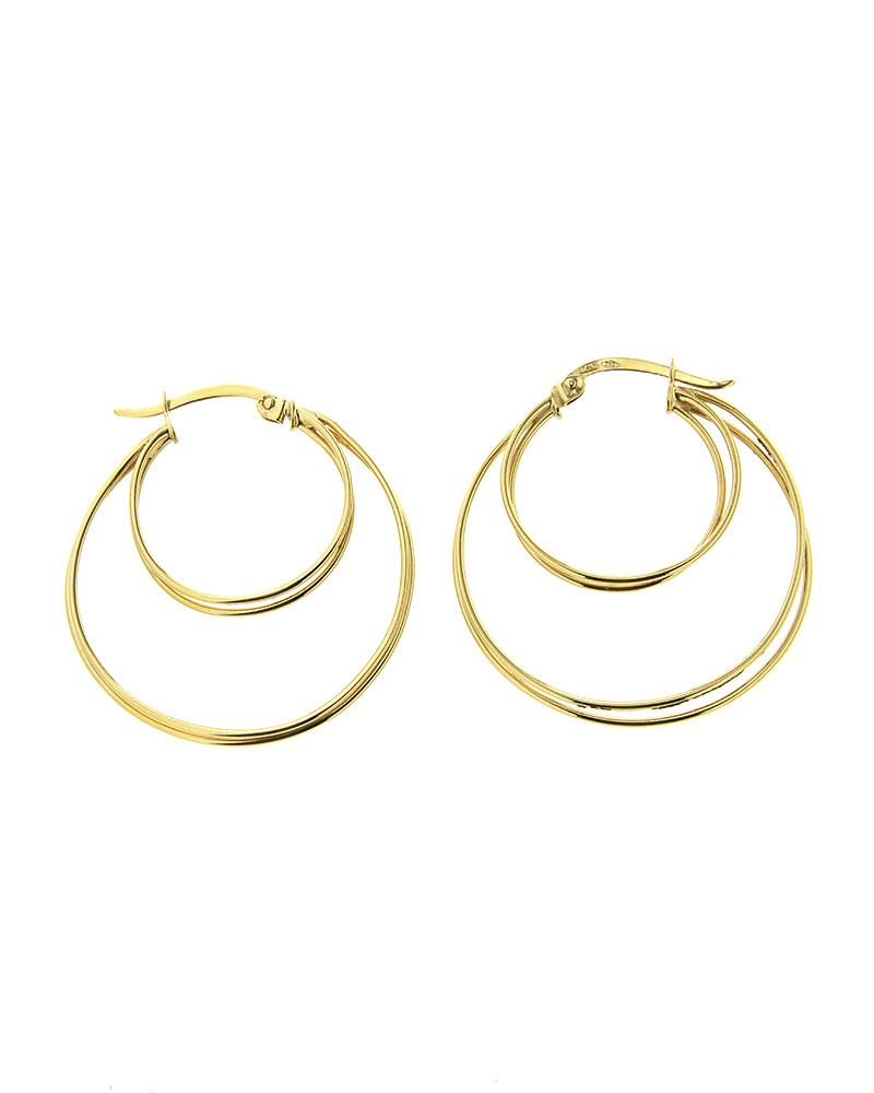 Σκουλαρίκια κρίκοι χρυσά Κ14   κοσμηματα σκουλαρίκια σκουλαρίκια χρυσά
