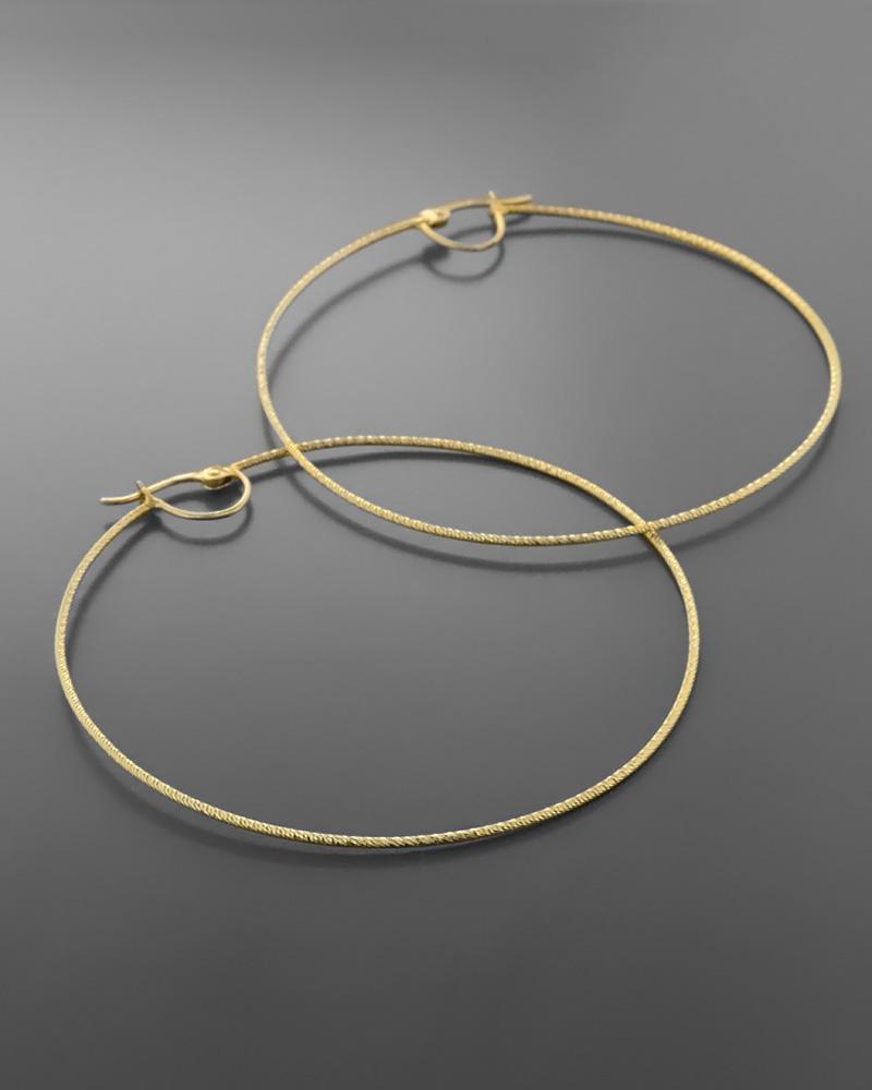 Σκουλαρίκια κρίκοι χρυσά Κ18   γυναικα σκουλαρίκια σκουλαρίκια κρίκοι
