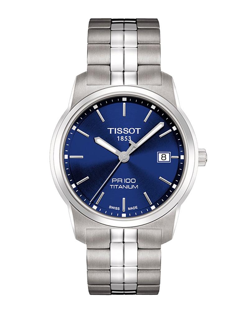 Ρολόι TISSOT T-Classic PR 100 Titanium T0494104404100   brands tissot t classic
