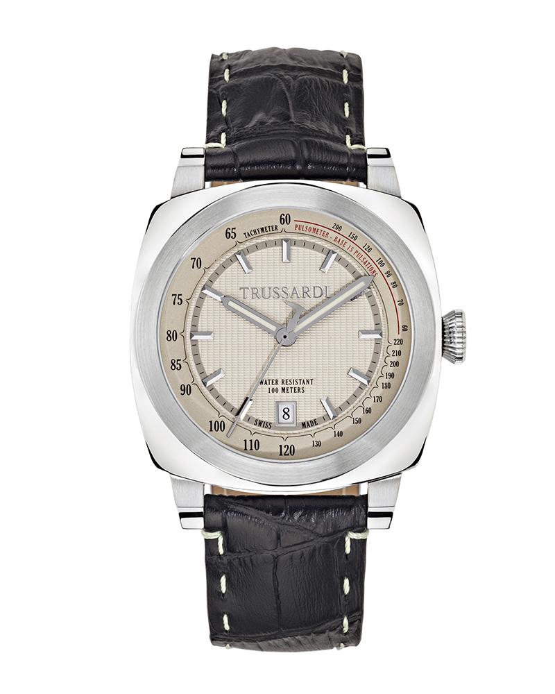 Ρολόι TRUSSARDI ONLY TIME 1911 R2451102002   προσφορεσ ρολόγια ρολόγια απο 300 έως 500ε