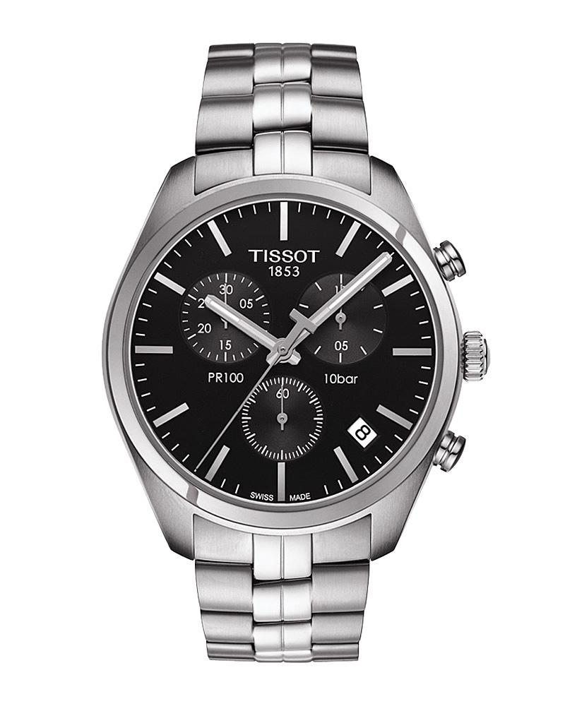 Ρολόι TISSOT T-Classic PR 100 Chronograph T1014171105100   brands tissot t classic