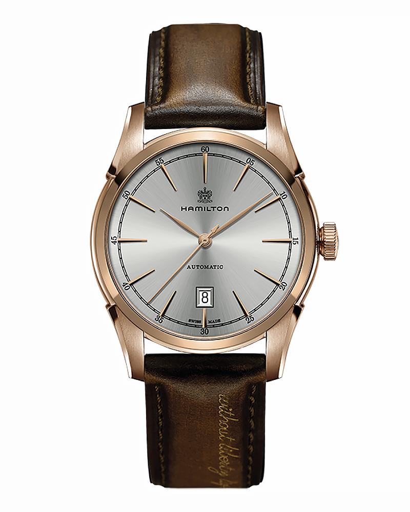 Ρολόι HAMILTON American Classic Rose Gold H42445551   brands hamilton
